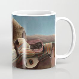 The Sleeping Gypsy by Henri Rousseau Coffee Mug