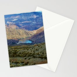 Lake Mead Mountain View Stationery Cards