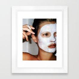 Kate Mask Framed Art Print