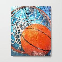 Basketball art variant 1 Metal Print