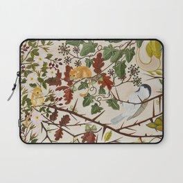 Marsh Tit and Field Mice Laptop Sleeve