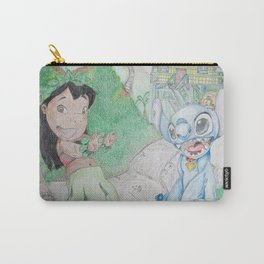Lilo & Stitch at Home Carry-All Pouch