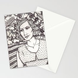 Women in Water: Loretta with Pies in the Sky Stationery Cards