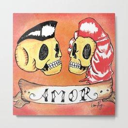 Amor Rockabilly Metal Print