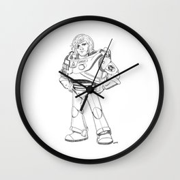 Woody Lightyear  Wall Clock