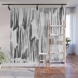 Modern Stripes Gray Wall Mural