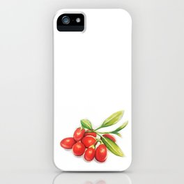 Group o' Goji berries iPhone Case