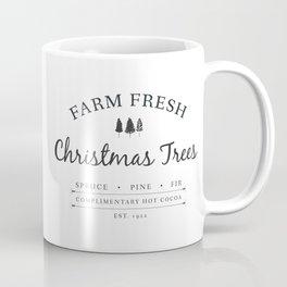 Christmas Tree Farm Art Print Gift Coffee Mug