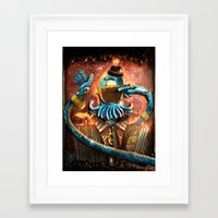 zoidberg Framed Art Prints featuring Donny Darkmatter by TheJCW