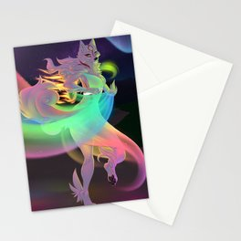 Lights Touch The Earth Stationery Cards