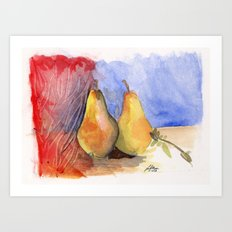 Peared Abstraction Art Print