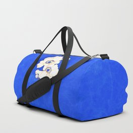 Ultramarine Blue :: Anemones Duffle Bag