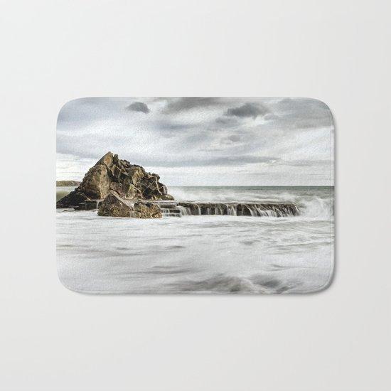 A Smooth Sea Bath Mat