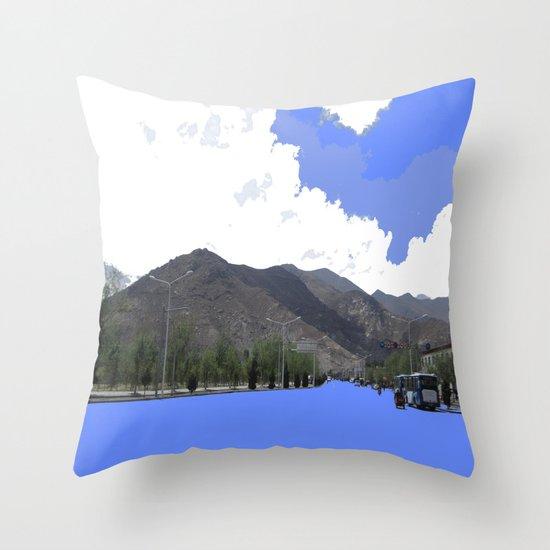 Lots Of Fresh Air Throw Pillow