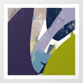 Sunday Winter Time vol.1 - Abstract Throw Pillow / Wall Art / Home Decor Art Print