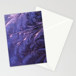 Ice Fractals 2 Stationery Cards