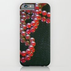 Colorful Pearls on a dirty mirror. iPhone 6s Slim Case