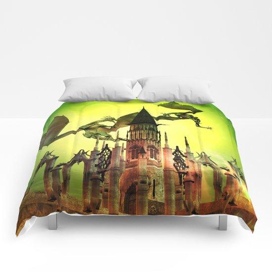 Flying dragon  Comforters
