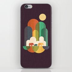 Elephant walk iPhone & iPod Skin
