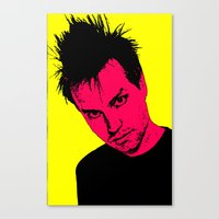 blink 182 Canvas Prints featuring Mark Hoppus (Blink-182) by ACHE