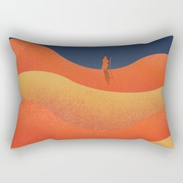 Lawrence of Arabia, vintage movie poster, David Lean, Peter O'Toole, Anthony Quinn, Omar Sharif Rectangular Pillow