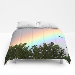 Pastel Natural Rainbow Comforters