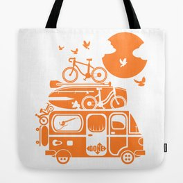 Funny family vacation camper Tote Bag