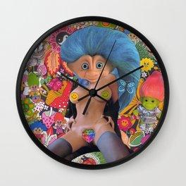 Glorious Troll   Wall Clock