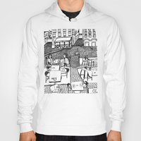 stockholm Hoodies featuring Stockholm by intermittentdreamscapes