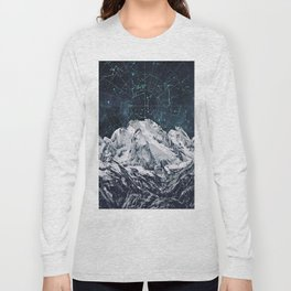Constellations over the Mountain Long Sleeve T-shirt