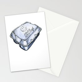 Happy Take-Out Box Stationery Cards