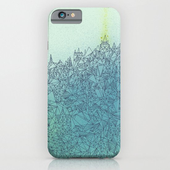 A Quiet Raft iPhone & iPod Case