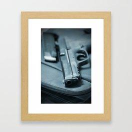 On the Lam Framed Art Print