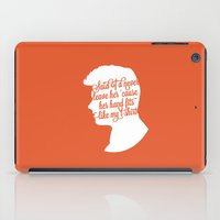 liam payne iPad Cases featuring Liam Payne Silhouette   by Holly Ent