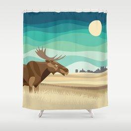 Canadian Prairies Shower Curtain