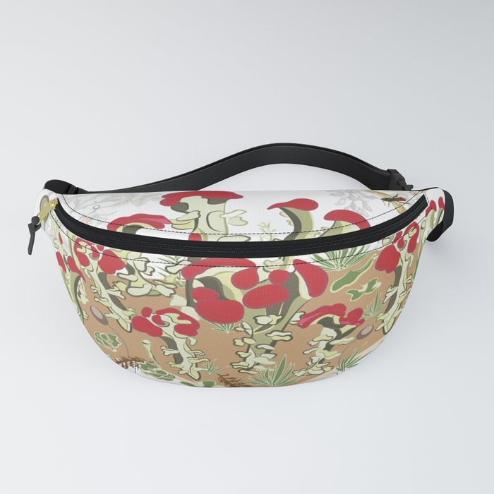 A Story of Moss Fanny Pack