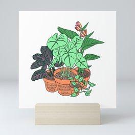 Root and Grow Mini Art Print