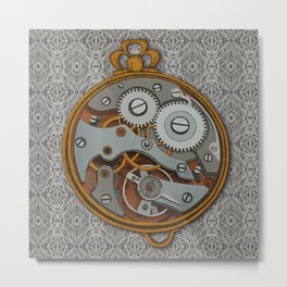 Pieces of Time Metal Print