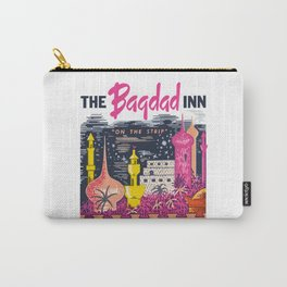THE BAGDAD INN hotel & casino Carry-All Pouch