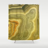 marble Shower Curtains featuring Marble by Patterns and Textures