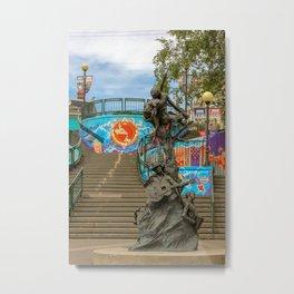 George Street Metal Print
