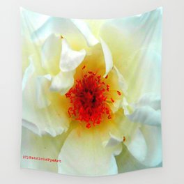 The Christchurch Rose  Wall Tapestry