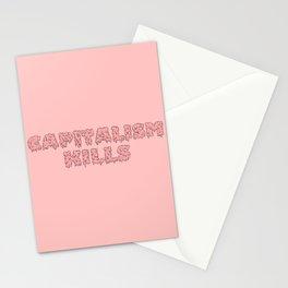 Capitalism Kills Stationery Cards