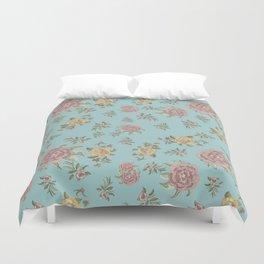 Mantón Azul Duvet Cover