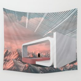 Cloud Pool Wall Tapestry