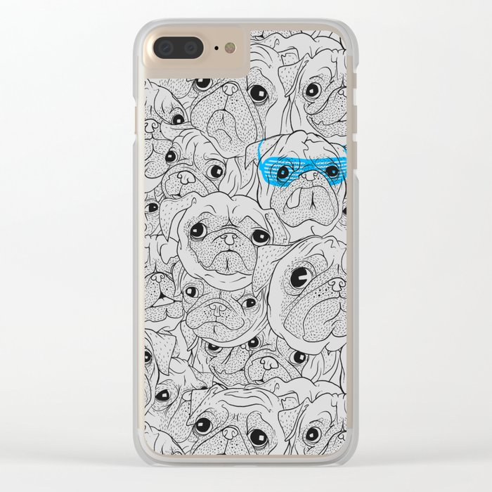 Hot Dog Clear iPhone Case