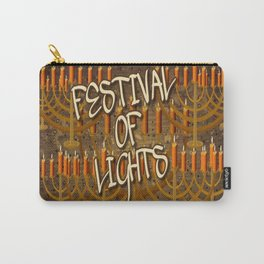 HANUKKAH/Browns Carry-All Pouch