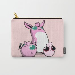 Pokémon - Number 39, 40 and that little fellow! Carry-All Pouch