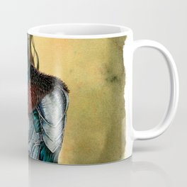 Portrait of Shieldmaiden Coffee Mug