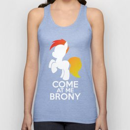 Come at me Brony Unisex Tank Top